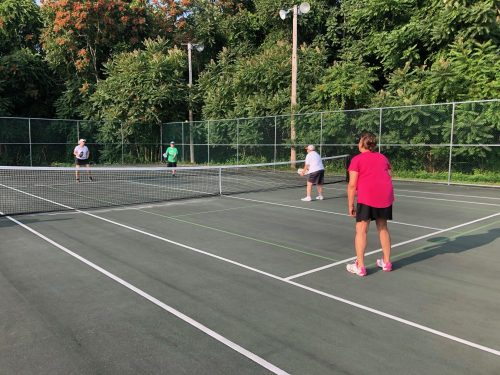 MTA with Trumbull Parks and Recreation, Senior Pickleball League Senior (55+)